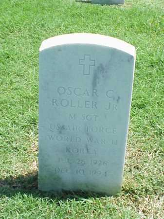 ROLLER, JR (VETERAN 2 WARS), OSCAR C - Pulaski County, Arkansas | OSCAR C ROLLER, JR (VETERAN 2 WARS) - Arkansas Gravestone Photos