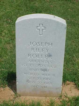 ROLLER (VETERAN WWII), JOSEPH RILEY - Pulaski County, Arkansas | JOSEPH RILEY ROLLER (VETERAN WWII) - Arkansas Gravestone Photos