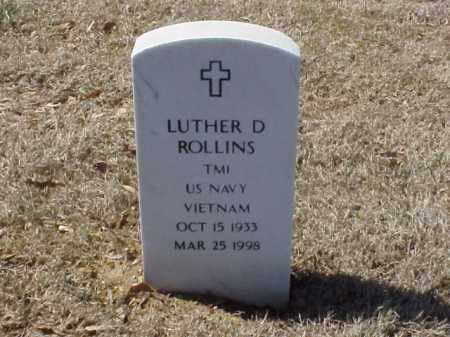 ROLLINS  (VETERAN VIET), LUTHER D - Pulaski County, Arkansas | LUTHER D ROLLINS  (VETERAN VIET) - Arkansas Gravestone Photos
