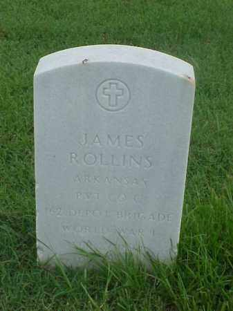 ROLLINS (VETERAN WWI), JAMES - Pulaski County, Arkansas | JAMES ROLLINS (VETERAN WWI) - Arkansas Gravestone Photos