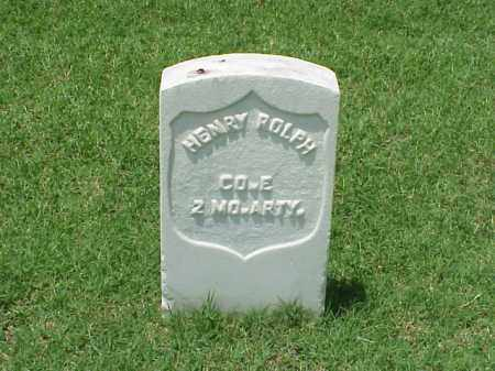 ROLPH (VETERAN UNION), HENRY - Pulaski County, Arkansas | HENRY ROLPH (VETERAN UNION) - Arkansas Gravestone Photos