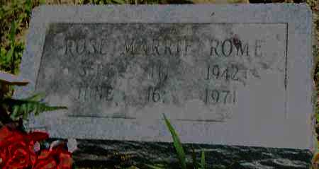 ROME, ROSE MARRIE - Pulaski County, Arkansas | ROSE MARRIE ROME - Arkansas Gravestone Photos