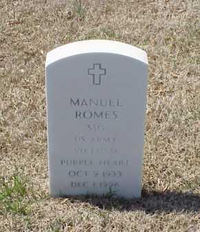 ROMES (VETERAN VIET), MANUEL - Pulaski County, Arkansas | MANUEL ROMES (VETERAN VIET) - Arkansas Gravestone Photos