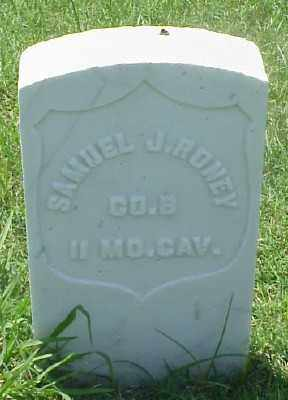 RONEY (VETERAN UNION), SAMUEL J - Pulaski County, Arkansas | SAMUEL J RONEY (VETERAN UNION) - Arkansas Gravestone Photos