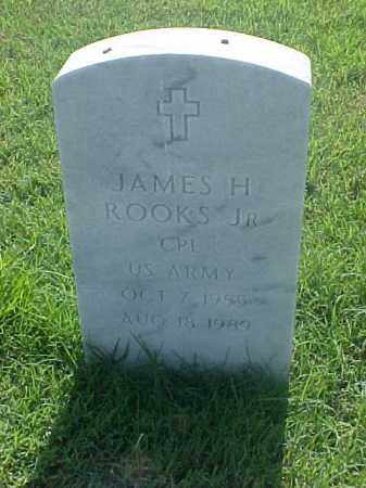ROOKS, JR (VETERAN), JAMES H - Pulaski County, Arkansas | JAMES H ROOKS, JR (VETERAN) - Arkansas Gravestone Photos