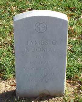 ROOMAL (VETERAN WWI), JAMES G - Pulaski County, Arkansas | JAMES G ROOMAL (VETERAN WWI) - Arkansas Gravestone Photos