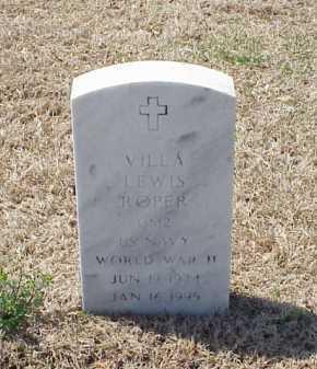 ROPER (VETERAN WWII), VILLA LEWIS - Pulaski County, Arkansas | VILLA LEWIS ROPER (VETERAN WWII) - Arkansas Gravestone Photos