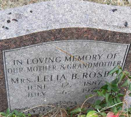 ROSBY MRS, LELIA B - Pulaski County, Arkansas | LELIA B ROSBY MRS - Arkansas Gravestone Photos