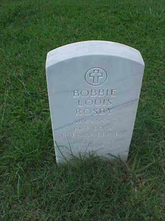 ROSBY (VETERAN KOR), BOBBIE LOUIS - Pulaski County, Arkansas | BOBBIE LOUIS ROSBY (VETERAN KOR) - Arkansas Gravestone Photos