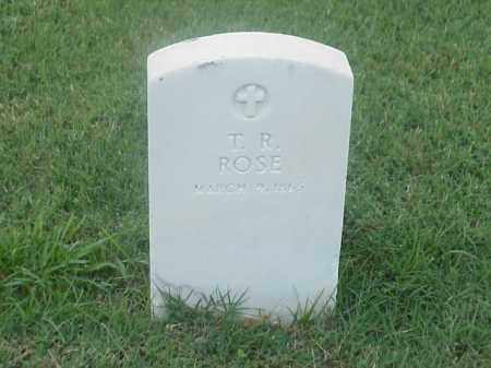 ROSE, T R - Pulaski County, Arkansas | T R ROSE - Arkansas Gravestone Photos