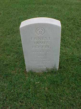 ROSELL (VETERAN 2 WARS), ERNEST JAMES - Pulaski County, Arkansas | ERNEST JAMES ROSELL (VETERAN 2 WARS) - Arkansas Gravestone Photos