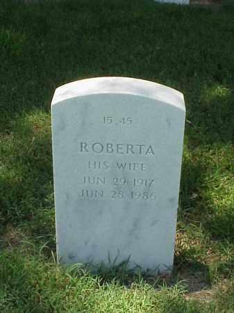 ROSHELL, ROBERTA - Pulaski County, Arkansas | ROBERTA ROSHELL - Arkansas Gravestone Photos