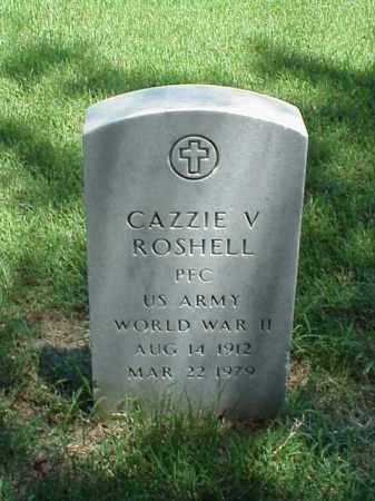 ROSHELL (VETERAN WWII), CAZZIE V - Pulaski County, Arkansas | CAZZIE V ROSHELL (VETERAN WWII) - Arkansas Gravestone Photos