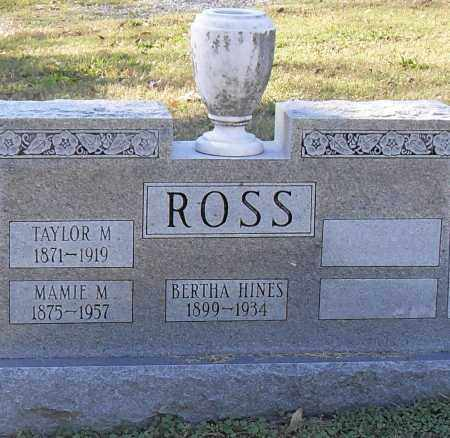 ROSS, MAMIE M. - Pulaski County, Arkansas | MAMIE M. ROSS - Arkansas Gravestone Photos