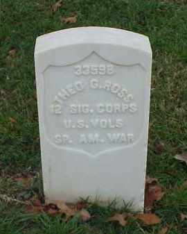 ROSS (VETERAN SAW), THEO - Pulaski County, Arkansas | THEO ROSS (VETERAN SAW) - Arkansas Gravestone Photos