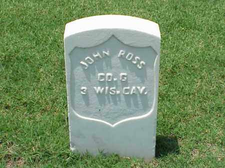 ROSS (VETERAN UNION), JOHN - Pulaski County, Arkansas | JOHN ROSS (VETERAN UNION) - Arkansas Gravestone Photos