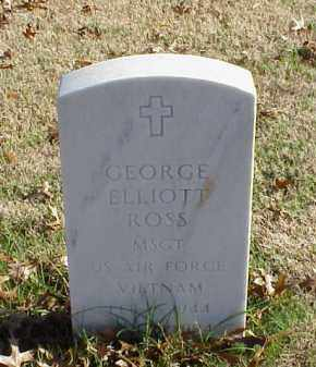 ROSS (VETERAN VIET), GEORGE ELLIOTT - Pulaski County, Arkansas | GEORGE ELLIOTT ROSS (VETERAN VIET) - Arkansas Gravestone Photos