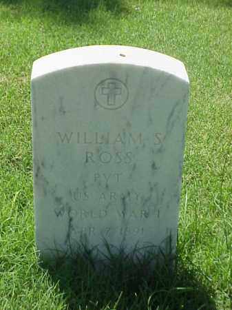 ROSS (VETERAN WWI), WILLIAM S - Pulaski County, Arkansas | WILLIAM S ROSS (VETERAN WWI) - Arkansas Gravestone Photos