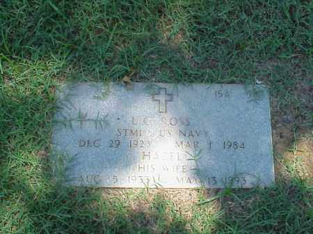 ROSS (VETERAN WWII), L C - Pulaski County, Arkansas | L C ROSS (VETERAN WWII) - Arkansas Gravestone Photos