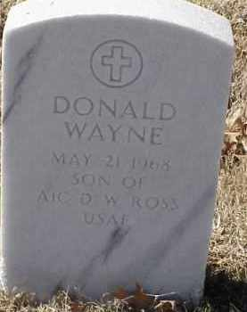 ROSS, JR, DONALD WAYNE - Pulaski County, Arkansas | DONALD WAYNE ROSS, JR - Arkansas Gravestone Photos