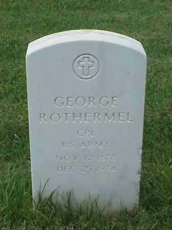 ROTHERMEL (VETERAN WWI), GEORGE - Pulaski County, Arkansas | GEORGE ROTHERMEL (VETERAN WWI) - Arkansas Gravestone Photos