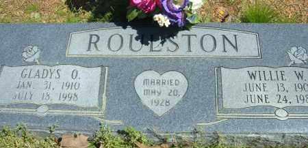 PARKER ROULSTON, GLADYS O. - Pulaski County, Arkansas | GLADYS O. PARKER ROULSTON - Arkansas Gravestone Photos