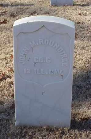ROUNDTREE (VETERAN UNION), JOHN M - Pulaski County, Arkansas | JOHN M ROUNDTREE (VETERAN UNION) - Arkansas Gravestone Photos