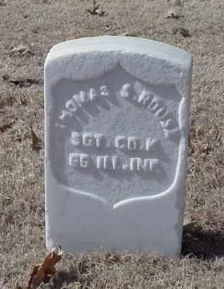 ROUSE (VETERAN UNION), THOMAS S - Pulaski County, Arkansas | THOMAS S ROUSE (VETERAN UNION) - Arkansas Gravestone Photos