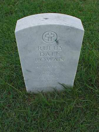 ROWAN (VETERAN 2 WARS), RUFUS DALE - Pulaski County, Arkansas | RUFUS DALE ROWAN (VETERAN 2 WARS) - Arkansas Gravestone Photos