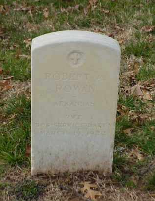 ROWAN (VETERAN WWI), ROBERT A - Pulaski County, Arkansas | ROBERT A ROWAN (VETERAN WWI) - Arkansas Gravestone Photos