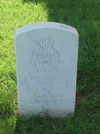 ROWE, SR (VETERAN WWII), ELMIRE - Pulaski County, Arkansas | ELMIRE ROWE, SR (VETERAN WWII) - Arkansas Gravestone Photos