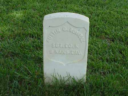 ROWELL (VETERAN UNION), AUSTIN G - Pulaski County, Arkansas | AUSTIN G ROWELL (VETERAN UNION) - Arkansas Gravestone Photos