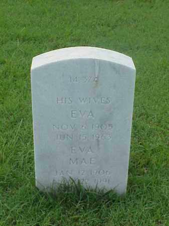 ROWLAND, EVA - Pulaski County, Arkansas | EVA ROWLAND - Arkansas Gravestone Photos
