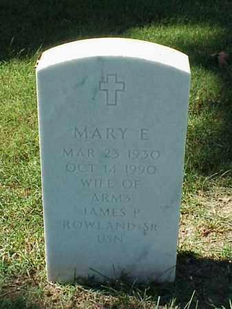 ROWLAND, MARY E - Pulaski County, Arkansas | MARY E ROWLAND - Arkansas Gravestone Photos