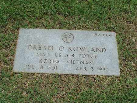 ROWLAND (VETERAN 2 WARS), DREXEL O - Pulaski County, Arkansas | DREXEL O ROWLAND (VETERAN 2 WARS) - Arkansas Gravestone Photos