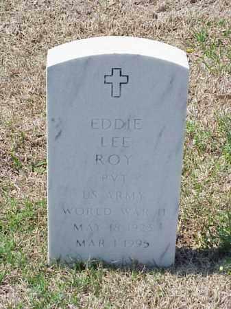 ROY (VETERAN WWII), EDDIE LEE - Pulaski County, Arkansas | EDDIE LEE ROY (VETERAN WWII) - Arkansas Gravestone Photos