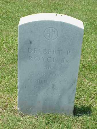 ROYCE, JR (VETERAN WWII), DELBERT R - Pulaski County, Arkansas | DELBERT R ROYCE, JR (VETERAN WWII) - Arkansas Gravestone Photos