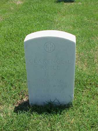RUBLE (VETERAN WWII), CLARENCE L - Pulaski County, Arkansas | CLARENCE L RUBLE (VETERAN WWII) - Arkansas Gravestone Photos