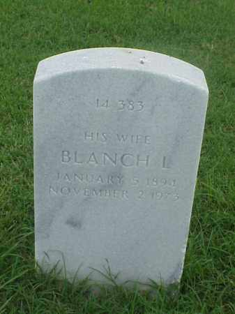 RUCKER, BLANCH L - Pulaski County, Arkansas | BLANCH L RUCKER - Arkansas Gravestone Photos