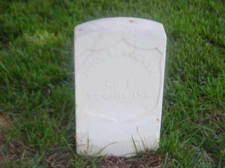 RUCKER (VETERAN UNION), JOHN E - Pulaski County, Arkansas | JOHN E RUCKER (VETERAN UNION) - Arkansas Gravestone Photos