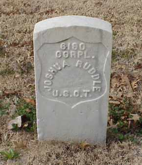 RUDDLE (VETERAN UNION), JOSHUA - Pulaski County, Arkansas | JOSHUA RUDDLE (VETERAN UNION) - Arkansas Gravestone Photos