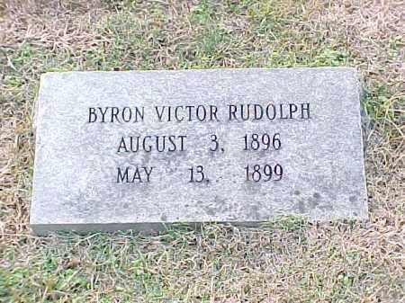 RUDOLPH, BYRON VICTOR - Pulaski County, Arkansas | BYRON VICTOR RUDOLPH - Arkansas Gravestone Photos