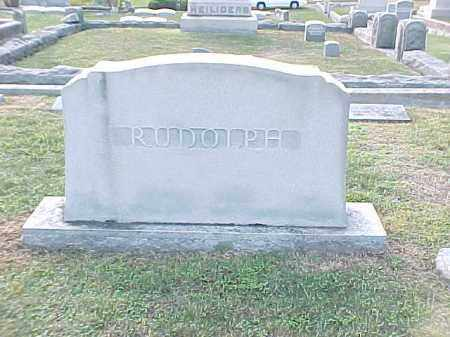 RUDOLPH FAMILY STONE,  - Pulaski County, Arkansas |  RUDOLPH FAMILY STONE - Arkansas Gravestone Photos