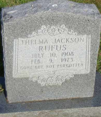RUFUS, THELMA - Pulaski County, Arkansas | THELMA RUFUS - Arkansas Gravestone Photos