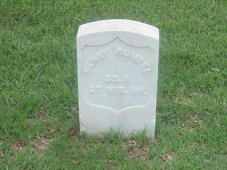RUMPEL (VETERAN UNION), HENRY - Pulaski County, Arkansas | HENRY RUMPEL (VETERAN UNION) - Arkansas Gravestone Photos