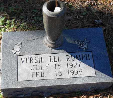 RUMPH, VERSIE LEE - Pulaski County, Arkansas | VERSIE LEE RUMPH - Arkansas Gravestone Photos