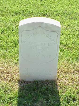 RUMPH (VETERAN SAW), WILLIAM - Pulaski County, Arkansas | WILLIAM RUMPH (VETERAN SAW) - Arkansas Gravestone Photos