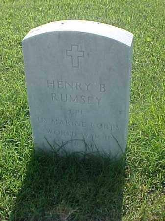 RUMSEY (VETERAN WWII), HENRY B - Pulaski County, Arkansas | HENRY B RUMSEY (VETERAN WWII) - Arkansas Gravestone Photos