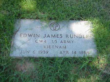 RUNDLE (VETERAN VIET), EDWIN JAMES - Pulaski County, Arkansas | EDWIN JAMES RUNDLE (VETERAN VIET) - Arkansas Gravestone Photos