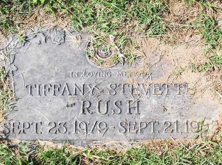 RUSH, TIFFANY STEVETTE - Pulaski County, Arkansas | TIFFANY STEVETTE RUSH - Arkansas Gravestone Photos